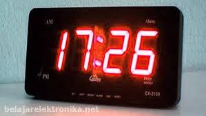membuat jam digital led besar cara membuat jam digital led sederhana tanpa program
