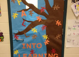 Appealing Classroom Door Decorations For Fall with Fall Door