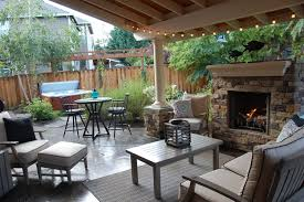 an outdoor living space and moving towards a dream u2014 fiddle creek home