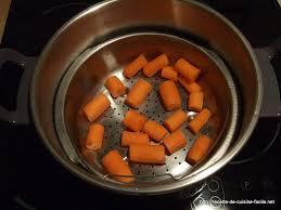 cuisine cocotte minute carottes vapeur etape 5 recette facile