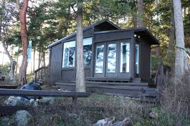 a tiny cabin with a tiny studio on tiny guemes island curbed seattle