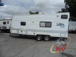 used 2000 thor tahoe transport 21 tb toy hauler travel trailer at