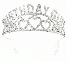 birthday girl forum novelties glitter tiara birthday girl toys