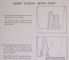 sleeve plackets patterns sewing patterns and sewing techniques