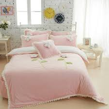 Girls Twin Princess Bed by Wholesale Thick Fleece Girls Bedding Sets King Queen Twin Size