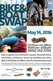 billings mt craigslist boat bicycle swap this saturday at sunshine sports outdoors