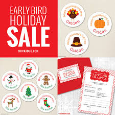 early bird sale for thanksgiving chickabug