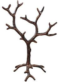 umbra orchid metal jewelry tree gunmetal gray home