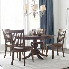 Kincaid Dining Room The Nook 54 Inch Round Dining Room Set Maple Kincaid Furniture