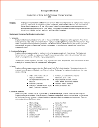 12 employment contract template free survey template words