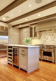 Kitchen Island With Wine Rack - natural classic wooden kitchen island builtin wine rack idee per