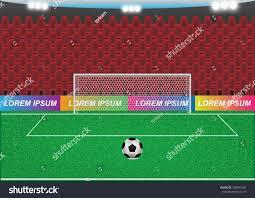 Penalty Flag Football Concept Idea Penalty Kick Football Sport Stock Vector 788043187
