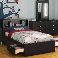 Tidy King Bed With Storage by South Shore Spark Mate U0027s Bed Box With Storage U0026 Reviews Wayfair