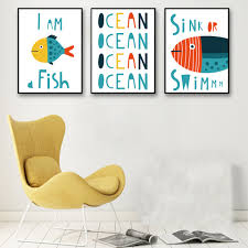 Marine Home Decor Online Get Cheap Marine Fish Art Aliexpress Com Alibaba Group