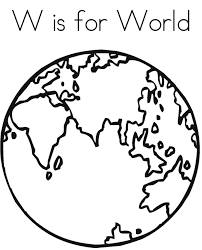 world free alphabet coloring pages alphabet coloring pages of