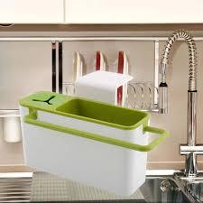 popular kitchen racks furniture buy cheap suction cup base kitchen brush sponge sink draining towel rack washing holder storage furniture