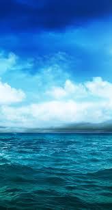 pure calm river mountain skyline scenery iphone 6 plus