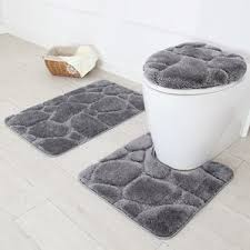 Gray Bathroom Rug Sets Daniels Bath Wayfair