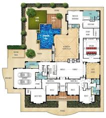 home plan design best 25 courtyard house plans ideas on house floor