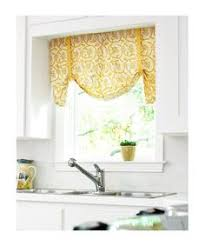 Yellow Kitchen Curtains Valances 8 Ways To Dress Up The Kitchen Window Without Using A Curtain