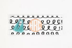 personalized acrylic tray monogram lucite tray jewelry tray