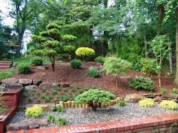 Backyard Hill Landscaping Ideas Front Yard Landscaping Ideas Exterior Contemporary With Lawn Entry