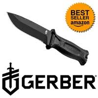 gerber knife home depot black friday gerber strongarm fixed blade knife black 38 47 techbargains