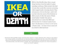 ad agency u0027s viral site ikeaordeath com pokes fun at swedish
