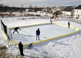 Backyard Hockey Rink Kit by Best Gifts For Hockey Players 2016