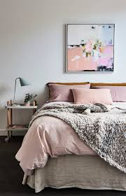 Welcome Home Decor Dusty Rose Bedroom With Cozy Chunky Knit Throw Love The Abstract
