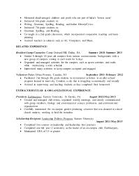 Faculty Resume Sample by Education On Resume Examples Sample Teacher Good Format For