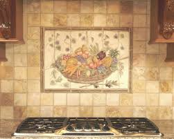 kitchen backsplash ceramic tile the kitchen back wall of ceramic