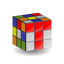 rubik s 3d rubik s cube 3x3 editorial photo illustration of colorful 92795386