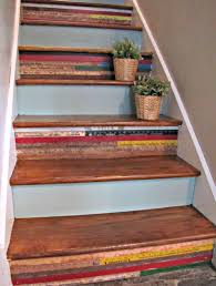 stairs 1 escalier pinterest yard sticks rustic feel and