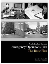 emergency plans emergency preparedness appalachian state