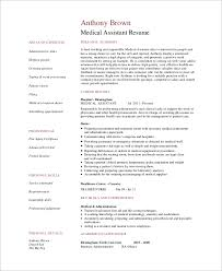 Medical Assistant Job Description For Resume by Sample Medical Assistant Resume 7 Examples In Pdf