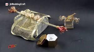 Make Wedding Ring by Diy Doli Pattern Ring Box How To Make Jk Wedding Craft 101
