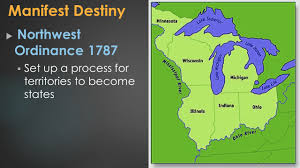 Manifest Destiny Map Westward Expansion Manifest Destiny And The Rise Of Sectionalism
