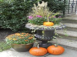 exterior designing the outdoor decorations for fall style simple