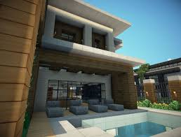 modern villa minecraft project