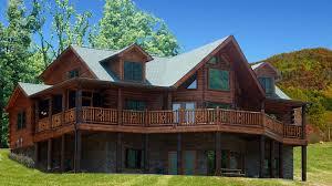 log home design plan and kits for jackson hole