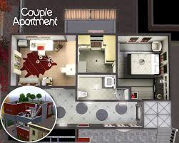 Sims 3 Apartment Floor Plans by Mod The Sims City Life Apartments