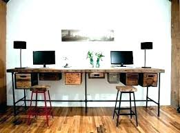 Home Office Furniture For Two Two Person Desk Home Office 2 Person Desks Desk For 2 2 Person