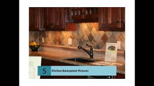 Kitchen Backsplash Designs Pictures Kitchen Backsplash Design Ideas And Pictures Youtube