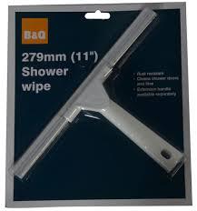 b u0026q shower wipe w 160mm departments diy at b u0026q