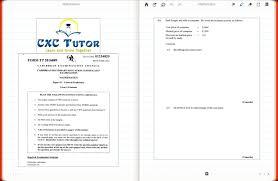 Resume Translator Cxc Tutor Exam Solutions May 2016 Math Paper 2 Q1 Bi U0026 Bii