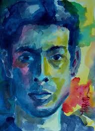 self portrait painting self portrait by khairzul mg