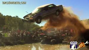 muddy truck redneck truck jumps gone wild busted knuckle films
