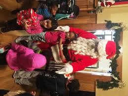 Department Gifts Santa And Cabin Volunteer Department Deliver Gifts To
