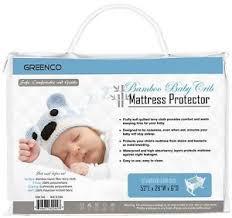 Hypoallergenic Crib Mattress Crib Mattress Protector Hypoallergenic Soft Cotton Baby Waterproof